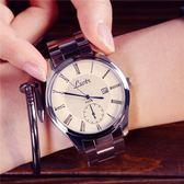 正韓手錶-大錶盤中性女錶時尚皮帶男錶學生情侶超薄防水石英手錶 99狂歡購物節