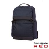 "Samsonite RED BRUNT 簡約多口袋筆電後背包15.6""(海軍藍)"