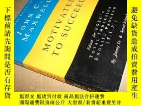 二手書博民逛書店JUHN罕見C. MAXWELL MOTIVATED YO SU