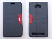 gamax完美系列 ASUS ZenFone Max(ZC550KL) 簡約綴色側翻手機保護皮套 隱藏磁扣可插卡可支撐 全包防摔