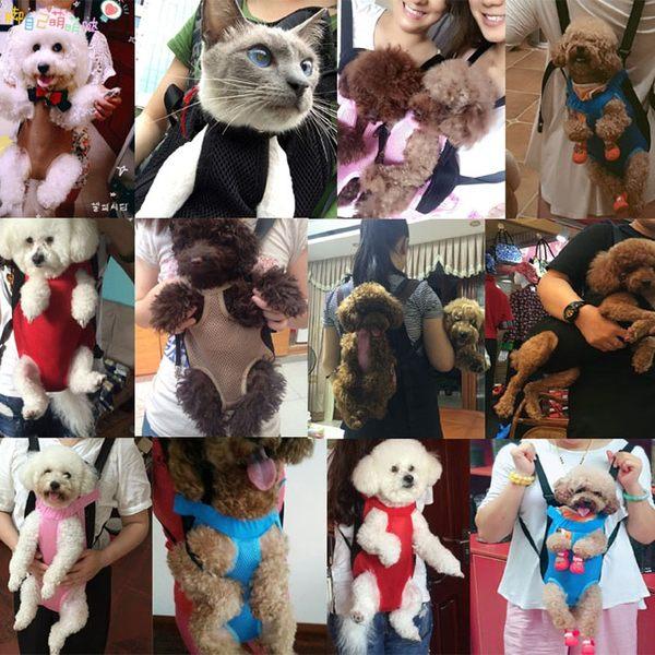 貓包透氣泰迪寵物外出便攜背包幼犬雙肩背狗背帶柯基貓咪用品【快速出貨】