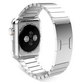 Apple Watch3/2/1 不銹鋼鏈式錶帶 Apple Watch 5 4 手錶帶 Watch4 替換錶帶 腕帶 Watch3