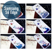 SAMSUNG 三星 S6 Edge 蝴蝶 流沙殼 保護套 手機殼 手機套 保護殼