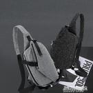胸包男斜背包帆布單肩包男包包休閒運動背包韓版潮男士腰包騎行包 新年優惠