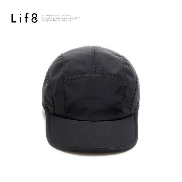 Sport 透氣排汗網布 輕量慢跑帽-黑【05261】
