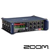 ZOOM F8N 數位 多軌錄音機 8軌 XLR / TRS 輸入 高級前級混合限制器 正成公司貨