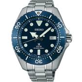 【台南 時代鐘錶 SEIKO】精工 PROSPEX 太陽能鈦金屬專業潛水錶 SBDJ011J@V157-0BN0B 藍 44mm
