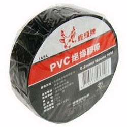 《☆享亮商城☆》IA84 黑色PVC絕緣膠帶 0.2mm*19mm*10M 鹿頭