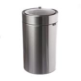 Upella 皓月圓形感應式垃圾桶12L-月光銀