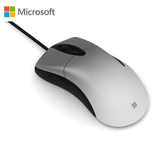 Microsoft 微軟 Pro Intellimouse 閃靈鯊專業版 電競滑鼠 (銀珀系列) NGX-00005