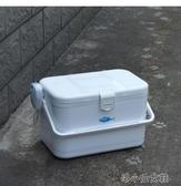 小釣箱輕便小型小號磯釣簡易儲藏蝦釣魚具方形臺釣箱收納箱保冷箱 洛小仙女鞋