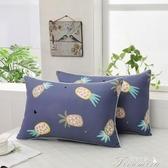 枕頭-學生枕頭宿舍寢室單人成人護頸椎可愛卡通枕頭 提拉米蘇