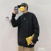 毛衣秋冬季新款ulzzang韓版男針織衫毛衣套頭潮流個性寬鬆上衣潮 易家樂