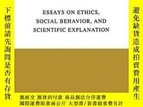 二手書博民逛書店Essays罕見On Ethics, Social Behavi