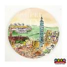 【收藏天地】台灣紀念品*神奇的陶瓷吸水杯墊-春之台北 ∕馬克杯 送禮 文創 風景 觀光  禮品
