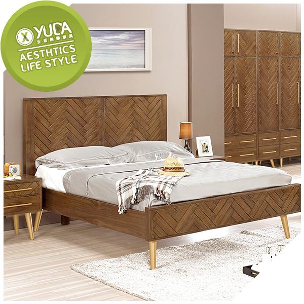 【YUDA】 普萊斯 6尺 雙人加大 / 床架 /床組  J0M 051-1