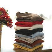 基礎版薄版內搭針織衫寬鬆毛衣上衣/設計家Y4845
