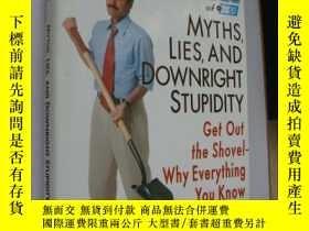 二手書博民逛書店Myths,Lies,and罕見Downright Stupid