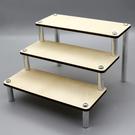 木質階梯展示架 公仔模型陳列收藏架 置物...