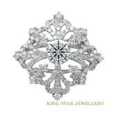 1克拉 風華絕代真鑽戒指 King Star海辰國際珠寶 飾品 K金 情人節禮物 派對首飾
