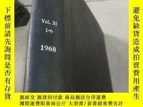 二手書博民逛書店chemical罕見processing Vol.31 Nos.
