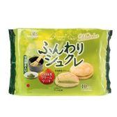 日本 柿原 鬆軟抹茶奶油風味夾心蛋糕 10入
