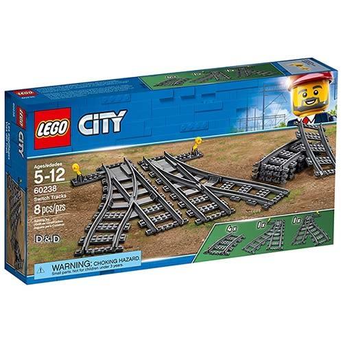 樂高積木 LEGO《 LT60238 》2018年 City 城市系列 - 切換式軌道╭★ JOYBUS玩具百貨