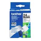 Brother HG-251 白底黑字 原廠高速列印標籤帶 適用PT-2430/2700/9500/9700/9800