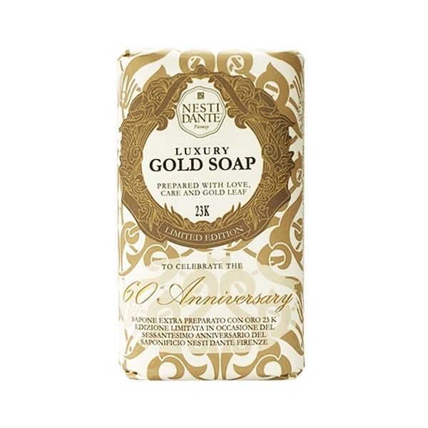 義大利 NESTI DANTE 身體香皂 Luxury Gold Soap Limited Edition 奢華金皂限量版 250g