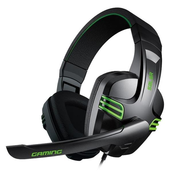【南紡購物中心】X-SHARK 重低音頭戴式電腦遊戲耳麥/耳機(KX101)