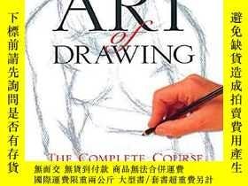 二手書博民逛書店原版罕見Art of Drawing: The Complete Course 藝術繪畫完整教程 藝術繪畫教學書奇