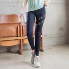 《KS0682》台灣製造~吸濕排汗幾何圖形彈力運動內搭褲/瑜珈褲 OrangeBear