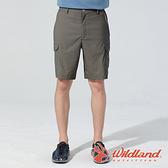 【wildland 荒野】男 彈性抗UV貼袋功能短褲『松果褐』0A81386 戶外 休閒 運動 露營 登山 騎車