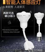 感應燈泡人體感應燈LED走廊臥室節能紅外線過道小夜燈插電 ciyo黛雅