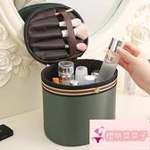 化妝包女大容量便攜手提化妝箱護膚品包收納盒袋子【櫻桃菜菜子】
