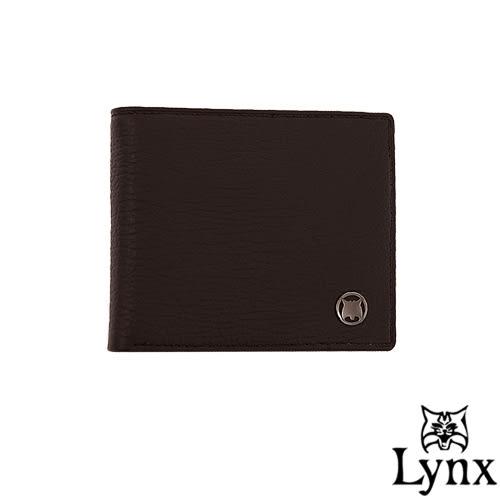 Lynx - 自信熟男真皮系列8卡1照短夾-共2色