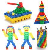 【新年鉅惠】火箭子彈頭積木玩具益智兒童拼插塑料幼兒園3-6-7-8周歲男孩早教