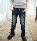 818好康 男童牛仔褲2018春秋新款韓版兒童牛仔褲