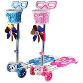 兒童滑板車四輪蛙式閃光搖擺滑滑車寶寶2歲3歲6歲4-5歲小孩剪刀車