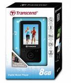 [富廉網] TRANSCEND 創見 MP3 8G MP710 健身模式 G-Sensor計步器 TS8GMP710BK 黑色
