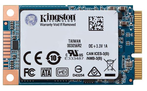 金士頓 SUV500MS mSATA 240G SSD 讀 520寫500M/s KINGSTON