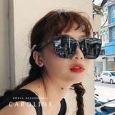 《Caroline》年度最新網紅款潮流行百搭抗UV時尚個性太陽眼鏡 71655