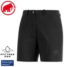 【MAMMUT 瑞士 女 Hiking Shorts短褲《黑》】1023-00130/運動短褲/休閒短褲