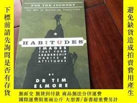 二手書博民逛書店Habitudes Images罕見that form leadership habits & attitudes