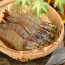 【華得水產】天然巨無霸生白蝦(600g/10-15尾/盒)