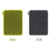 小饅頭** 韓國 sillymann 100%鉑金矽膠蔬果水(奶)瓶餐具洗碗刷(綠色、灰色)