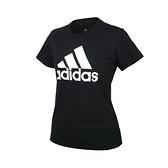 ADIDAS 女短袖T恤(亞規 純棉 休閒 慢跑 上衣 愛迪達≡體院≡ GL0722