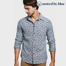 United by Blue 男棉麻長袖襯衫 101-046 Norde Stretch Button Down / 城市綠洲 (有機棉、環保、無化學物)