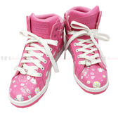 【KP】休閒鞋 成人 三麗鷗 Hello Kitty 高筒 滿版印花 正版授權 DTT0514240