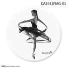 *╮寶琦華Bourdance╭*匈牙利DanzArte進口禮品☆DA芭蕾小圓鏡【DA1611PMG】